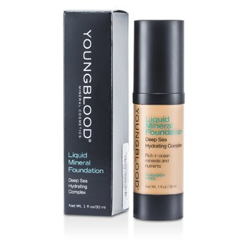 Youngblood Hydratační tekutý make up s minerály Liquid Mineral Foundation - Golden Tan