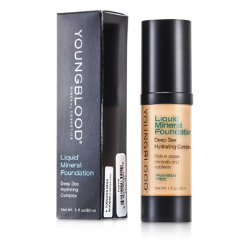Youngblood Hydratační tekutý make up s minerály Liquid Mineral Foundation - Pebble