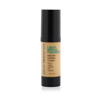 Youngblood Hydratační tekutý make up s minerály Liquid Mineral Foundation - Sand