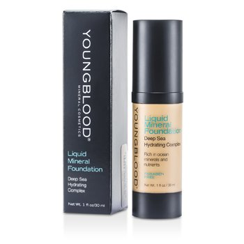 Youngblood Hydratační tekutý make up s minerály Liquid Mineral Foundation - Shell