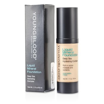 Youngblood Hydratační tekutý make up s minerály Liquid Mineral Foundation - Sun Kissed