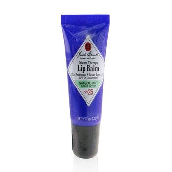 Jack Black Balzám na rty s mátou a bambuckým máslem Intense Therapy Lip Balm SPF 25 With Natural Mint & Shea Butter