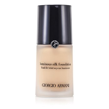 Giorgio Armani Lehký hedvábný make up bez oleje Luminous Silk Foundation - č. 3 (Pale Peach)