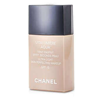 Chanel Rozjasňující hydratační make up Vitalumiere Aqua Ultra Light Skin Perfecting Make Up SFP 15 - č. 40 Beige