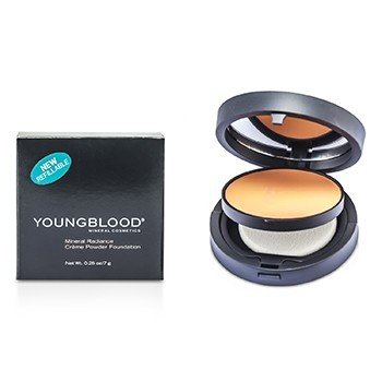 Youngblood Minerální krémově pudrový make up Mineral Radiance Creme Powder Foundation - č. Rose Beige