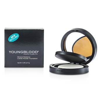 Youngblood Minerální krémově pudrový make up Mineral Radiance Creme Powder Foundation - č. Toffee