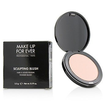 Make Up For Ever Pudrová tvářenka Sculpting Blush Powder Blush - č.10 (Satin Peach Pink)