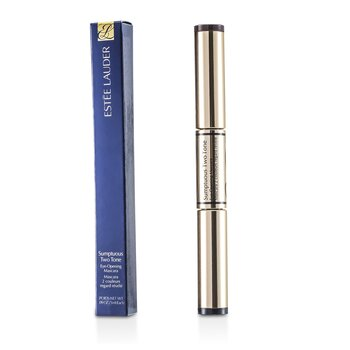 Estee Lauder Oboustranná řasenka Sumptuous Two Tone Eye Opening Mascara - č. 01 Bold Black/Rich Brown