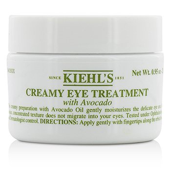 Kiehls Avokádový oční krém Creamy Eye Treatment with Avocado