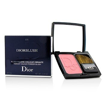 Christian Dior Pudrová tvářenka DiorBlush Vibrant Colour Powder Blush - # 876 Happy Cherry