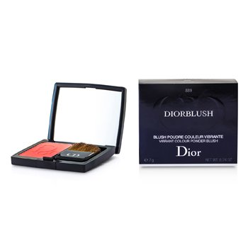 Christian Dior Pudrová tvářenka DiorBlush Vibrant Colour Powder Blush - # 889 New Red