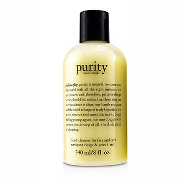 Philosophy Péče pro mytí obličeje a oči Purity Made Simple - 3-in-1 cleanser for face and eyes