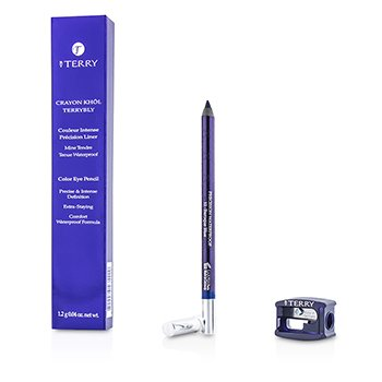 By Terry Tužka na oči Crayon Khol Terrybly Color Eye Pencil (voděodolná) - # 12 Baroque Blue