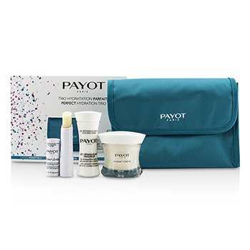 Payot Perfect Hydration Trip Set : Cleansing Milk 30ml + Cream 50ml + Lip Balm 4g