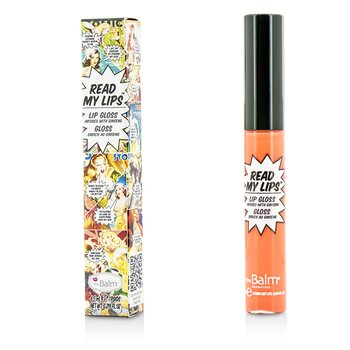TheBalm Read My Lips (lesk na rty Infused With Ginseng) - #Pop!