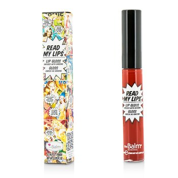 TheBalm Read My Lips (lesk na rty Infused With Ginseng) - #Wow!