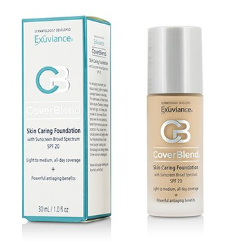 Exuviance CoverBlend Skin Caring make-up SPF20 - # True Beige