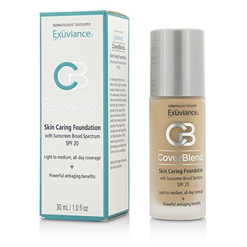 CoverBlend Skin Caring Foundation SPF20 - # Warm Beige