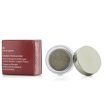 Clarins Ombre Iridescente Cream To Powder duhové oční stíny - #06 Sliver Green