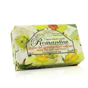 Nesti Dante Romantica Luxurious Natural Soap - Royal Lily & Narcissus
