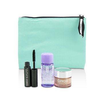 Clinique Clinique Set: All About Eye 15ml + Mascara 3.5ml + Eye Makeup Remover 30ml 482816