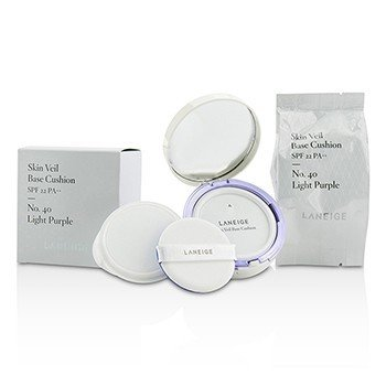 Laneige Skin Veil Base Cushion SPF 22 - #No. 40 Light Purple