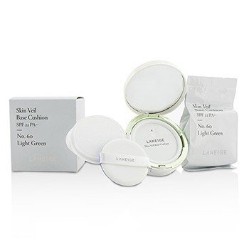 Laneige Skin Veil Base Cushion SPF 22 - #No. 60 Light Green