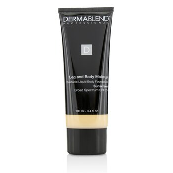 Dermablend Leg and Body Make Up Buildable Liquid Body Foundation Sunscreen Broad Spectrum SPF 25 - #Fair Nude 0N