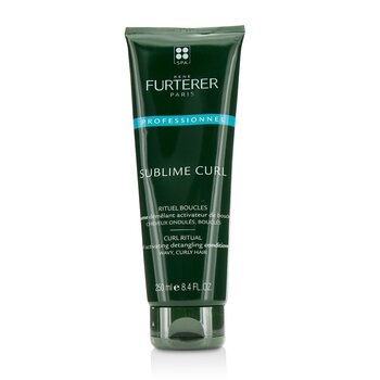 Rene Furterer Sublime Curl Curl Ritual Curl Activating Detangling Conditioner - Wavy, Curly Hair (Salon Product)