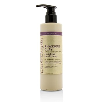 Carols Daughter Rhassoul Clay Active Living Haircare Enriching Conditioner (For Overworked & Over-washed Hair)
