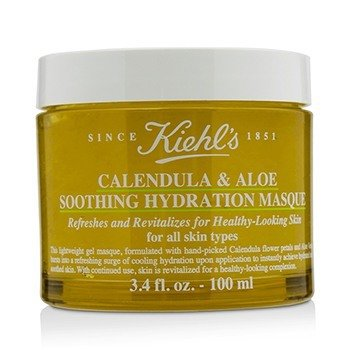 Kiehls Calendula & Aloe Soothing Hydration Masque - For All Skin Types