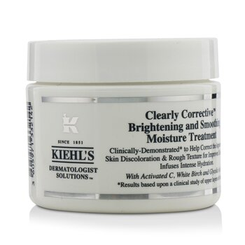 Kiehls Clearly Corrective Brightening & Smoothing Moisture Treatment