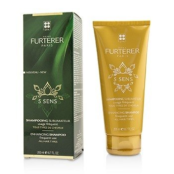 Rene Furterer 5 Sens Enhancing Shampoo (Frequent Use , All Hair Types)