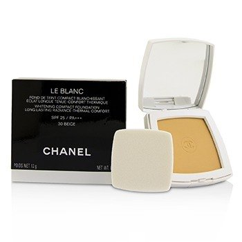 Chanel Le Blanc Whitening Compact Foundation SPF 25 - # 30 Beige