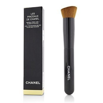 Chanel Les Pinceaux De Chanel 2 In 1 Foundation Brush (Fluid And Powder)