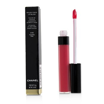 Chanel Rouge Coco Lip Blush Hydrating Lip And Cheek Colour - # 416 Teasing Pink