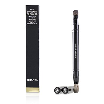 Chanel Les Pinceaux De Chanel Retractable Dual Tip Eyeshadow Brush