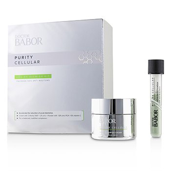 Babor Doctor Babor Purity Cellular SOS De-Blemish Kit: De-Blemish Cream 50ml + De-Blemish Powder 5g