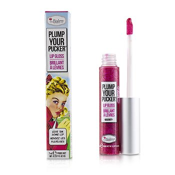 TheBalm Plum Your Pucker Lip Gloss - # Magnify