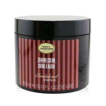 The Art Of Shaving Holicí krém se santalovým esenciálním olejem Shaving Cream - Sandalwood Essential Oil