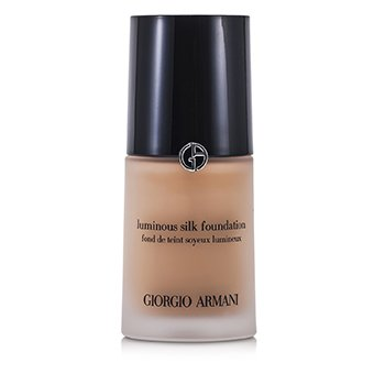 Giorgio Armani Lehký hedvábný make up bez oleje Luminous Silk Foundation - č. 5 (Warm Beige)
