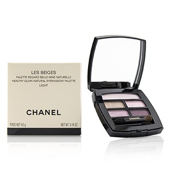 Chanel Les Beiges Healthy Glow Natural Eyeshadow Palette - # Light