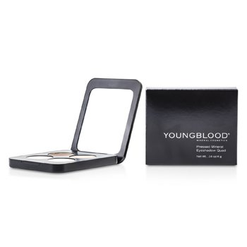 Youngblood Kompaktní minerální oční stíny Pressed Mineral Eyeshadow Quad - Shanghai Nights