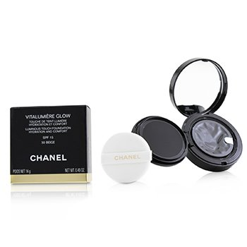 Chanel Vitalumiere Glow Luminous Touch Foundation Hydration And Comfort SPF 15 - # 30 Beige