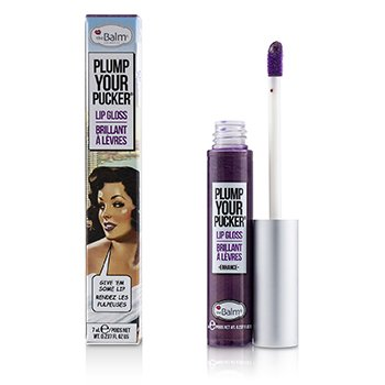 TheBalm Plum Your Pucker Lip Gloss - # Enhance