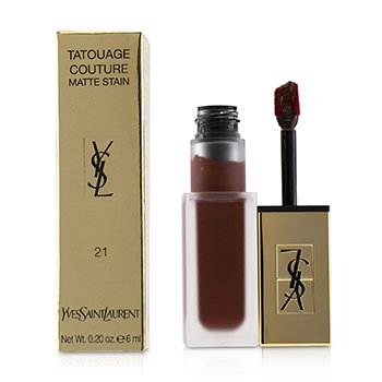 Yves Saint Laurent Tatouage Couture Matte Stain - # 21 Burgundy Instinct