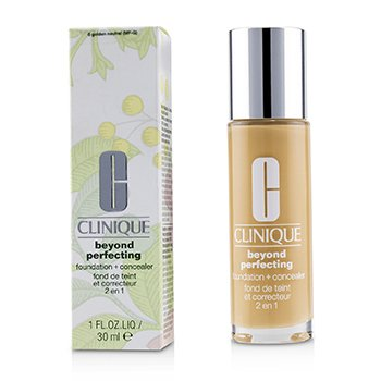 Clinique Beyond Perfecting Foundation & Concealer - # 8 Golden Neutral (MF-G)