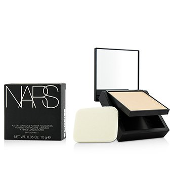 NARS Lehký pudrový make-up All Day Luminous Powder Foundation SPF25 - Siberia (Light 1 Light with neutral balance of pink and yellow undertones)