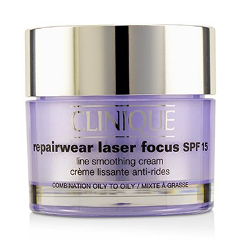 Clinique Repairwear Laser Focus Line Smoothing Cream SPF 15 - Combination Oily To Oily