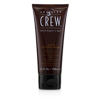 American Crew Men Matte Styling Cream (Medium Hold Cream with No Shine)